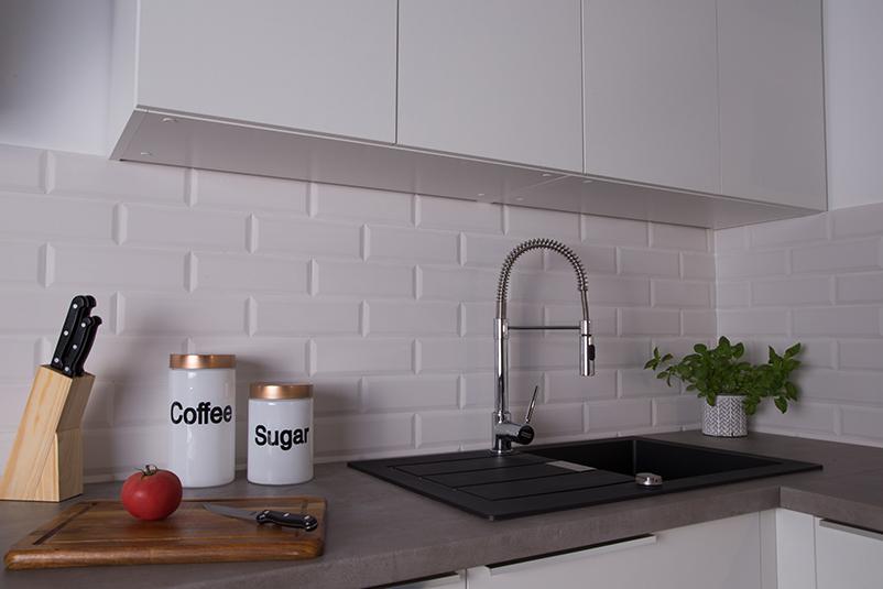 Küche ohne HLT-Beleuchtung