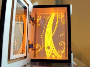 Prototyp dekoracji oświetleniowej do mebli