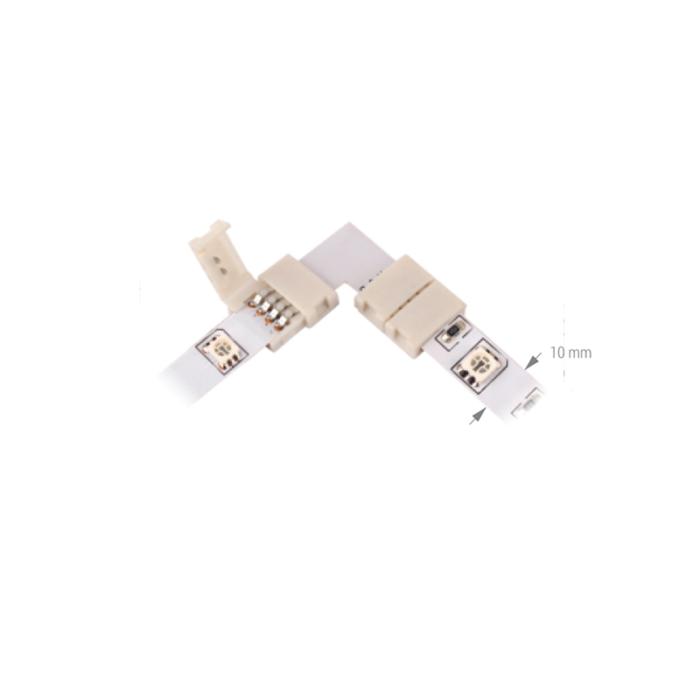 Winkelverbinder für RGB-LED-Streifen 10 mm