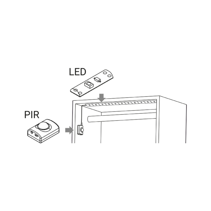 Oświetlenie LED do szafy BLIX