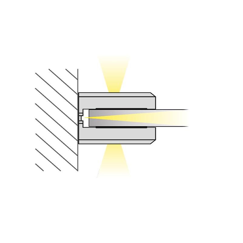 DOJO Slim 3d oprawa led do półek - światło