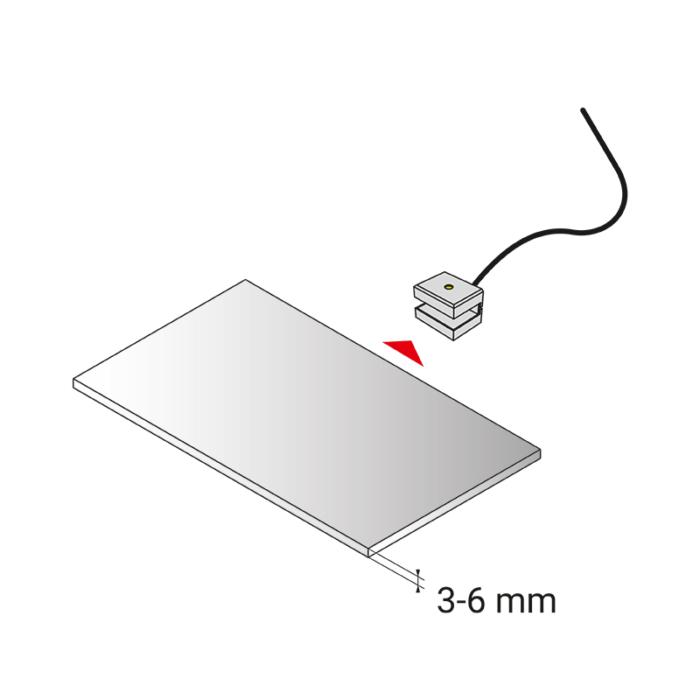 DOJO Slim 3d oprawa led do półek - montaż