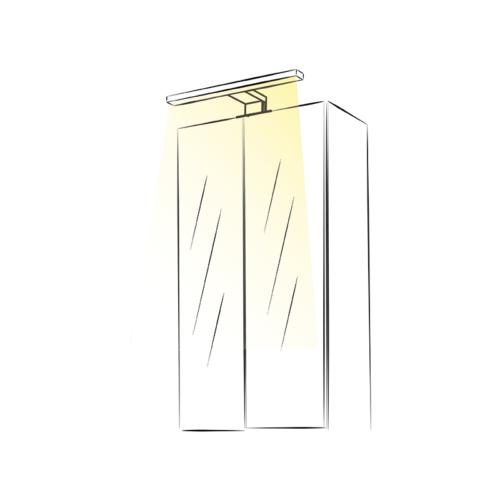 Eiko 230V - over mirror bathroom light
