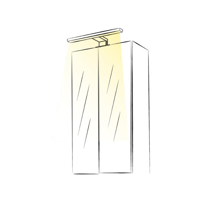 Wysięgnik LED Eriko 230V - aranżacja