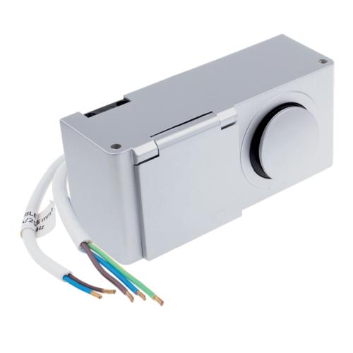Kombibox 230 V AC ip44 - furniture socket for the bathroom