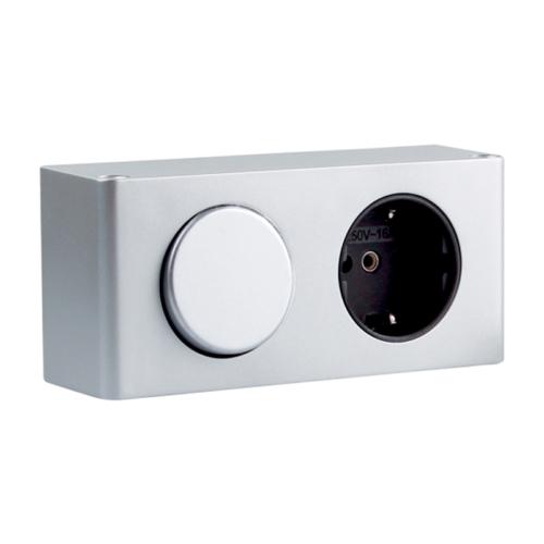 kombibox - furniture socket with switch