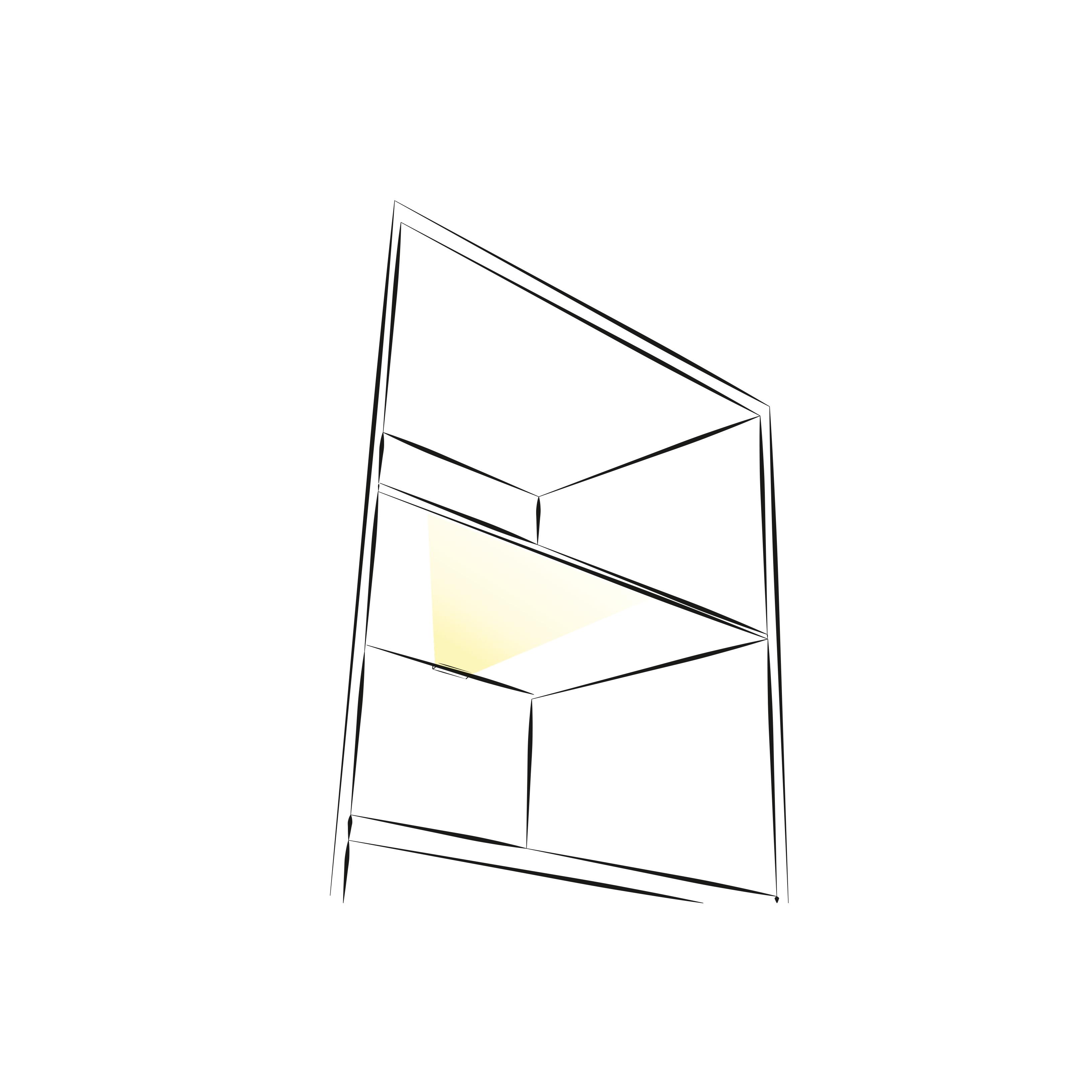 Klips 2d. Oświetlenie do mebli do półek. Aranżacja.