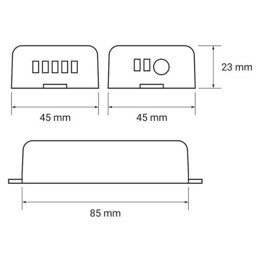 LED RF control set 4x