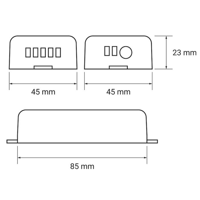 Zestaw sterujący oświetleniem LED RGB RF 4x