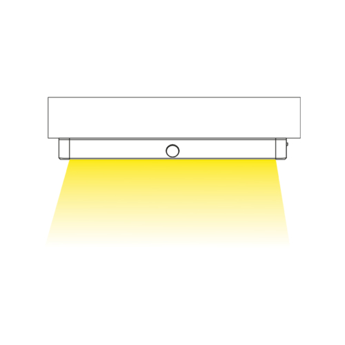 LED Lampe mit eingebautem Akku. aufgeladen von micro usb