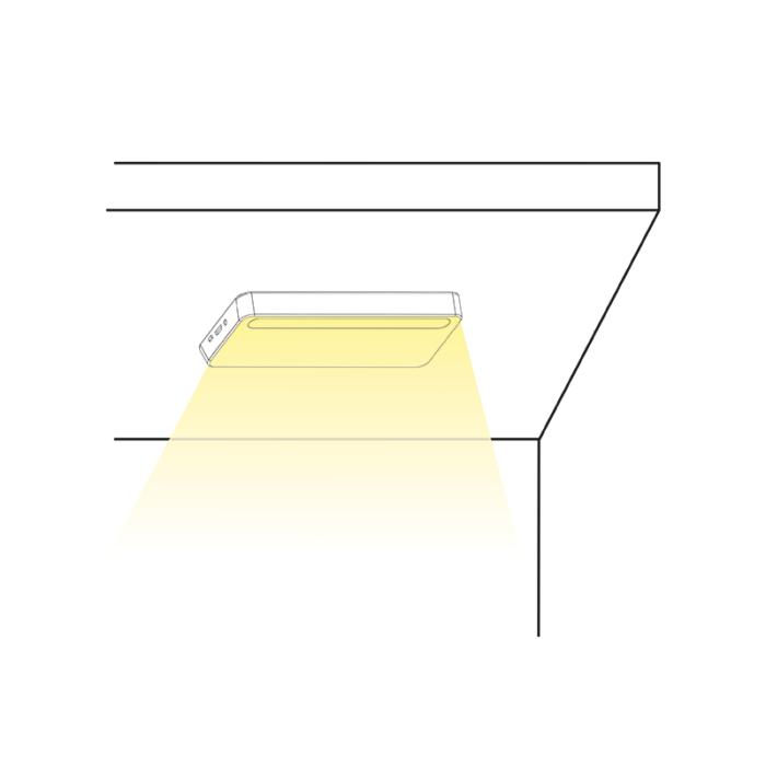 Lampka LED z akumulatorem Lumini D - montaż