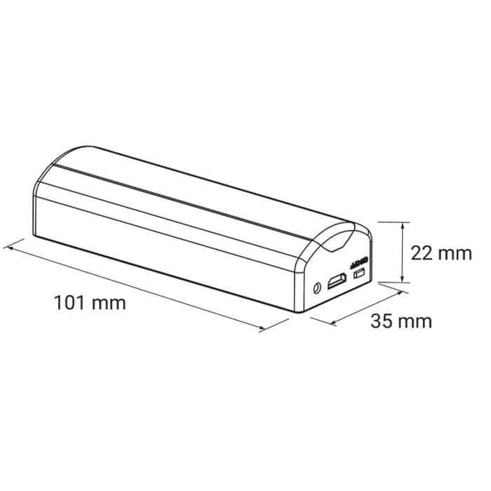 Lumini I - Motion Sensor Rechargeable Battery LED Light