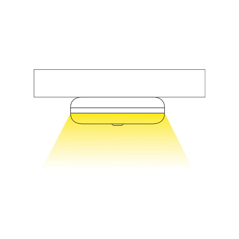 Lampka LED z akumulatorem Lumini O - świecenie