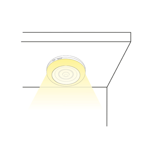 Lumini O - Motion Sensor Rechargeable Battery LED Light