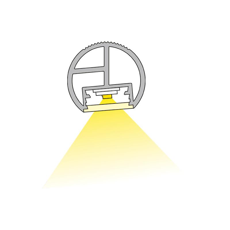 Drążek do szafy z oświetleniem LED - Lift Led. Światło.