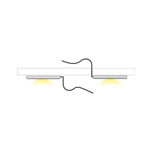 Orbit mono światło - oprawa led do mebli