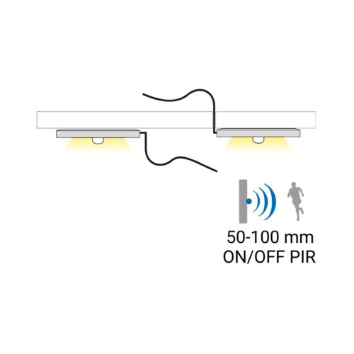 Oprawa LED Orbit PIR - światło