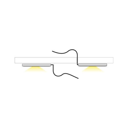 oprawa LED do mebli - światło