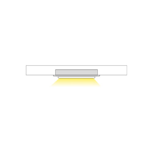 Orbit Slim 1 LED luminaire for furniture - light
