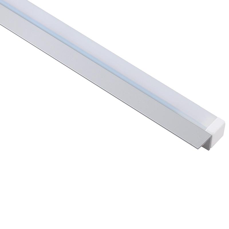 Prismatic pc oświetlenie do mebli montowane do półek szkalnych lub drewnianych