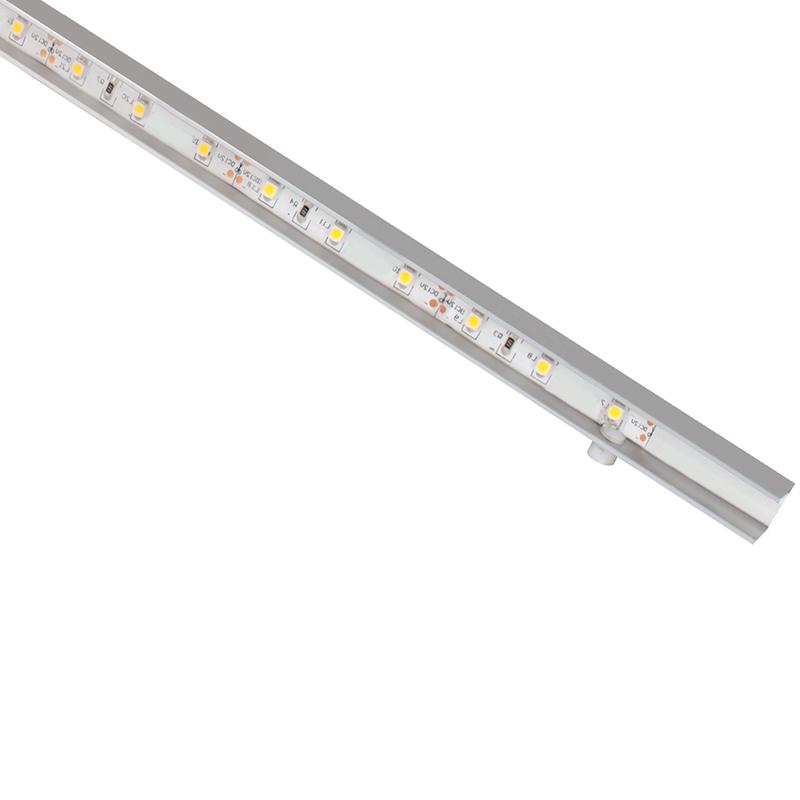 PRISMATIC SLIM profil aluminiowy z oświetleniem led do półek szklanych