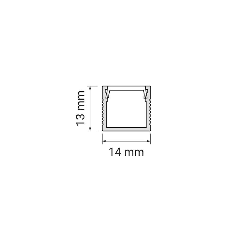 Profil LED polarus przekrój