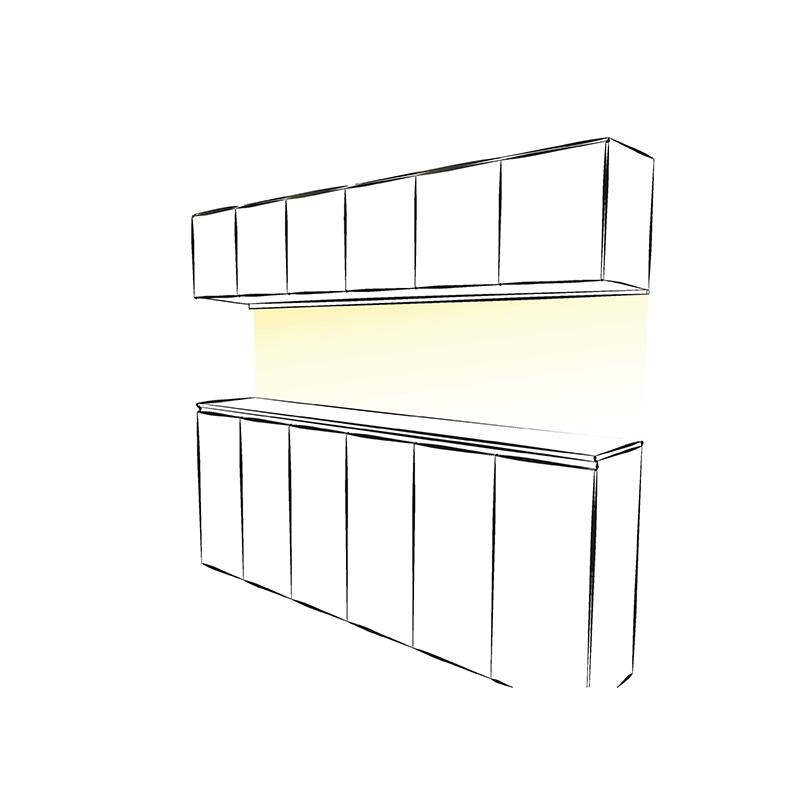 Polarus micro master - profil LED - aranżacja