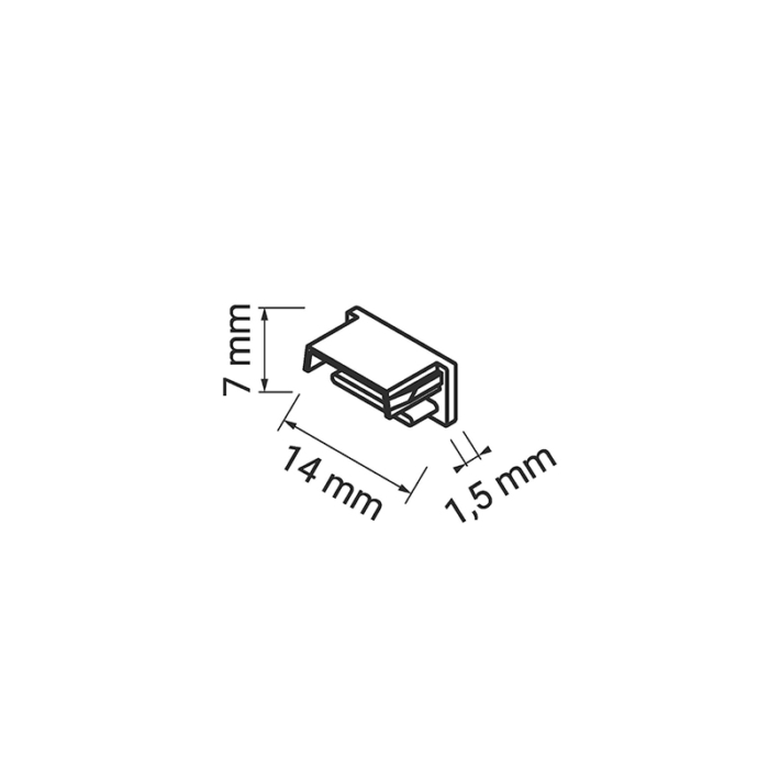 Polarus micro master - profil LED - zaślepka