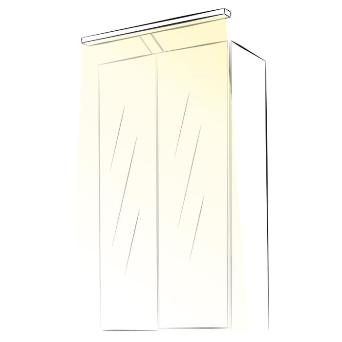 Wysięgnik LED Polistar - aranżacja