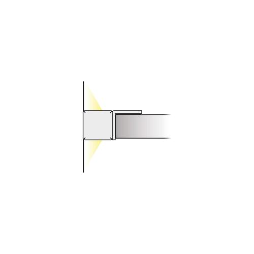 Prismatic PC Mini 2D - Beleuchtung für Möbel auf Glas- oder Holzregalen