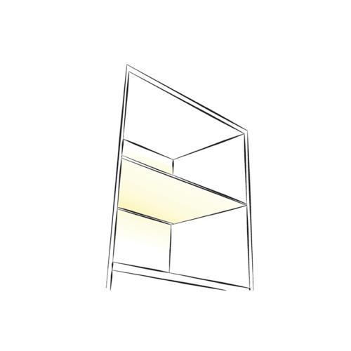 PRISMATIC PC MINI LED-Beleuchtung für Möbel