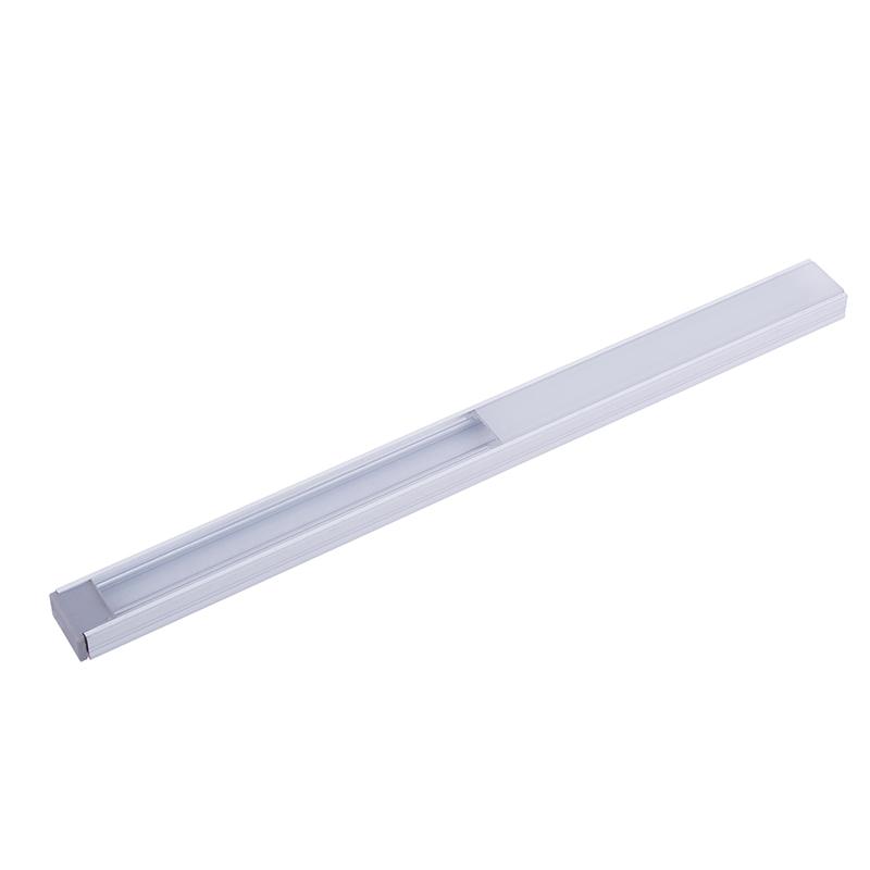 Profil Polarus Micro - aluminiowy profil do oświetlenia LED. Oświetlenie liniowe LED. Kolor profilu aluminium.