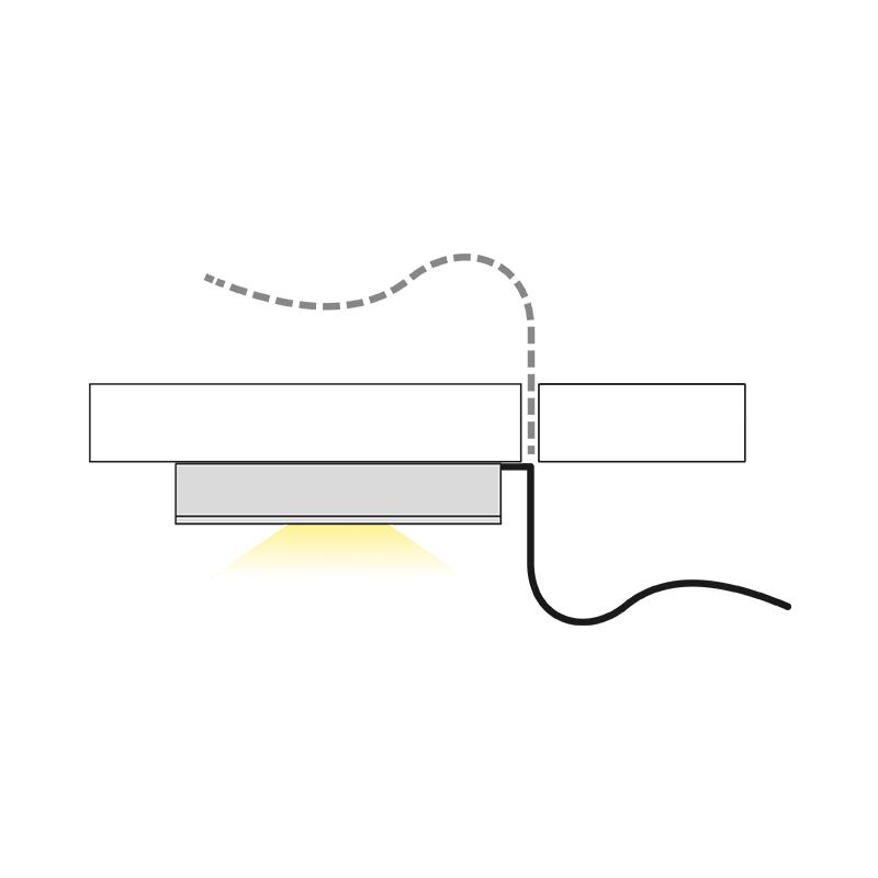 Oprawa LED Queen LED Base - światło