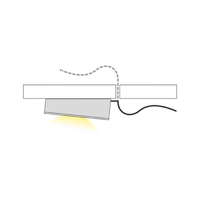 Oprawa LED Queen LED Skos - światło