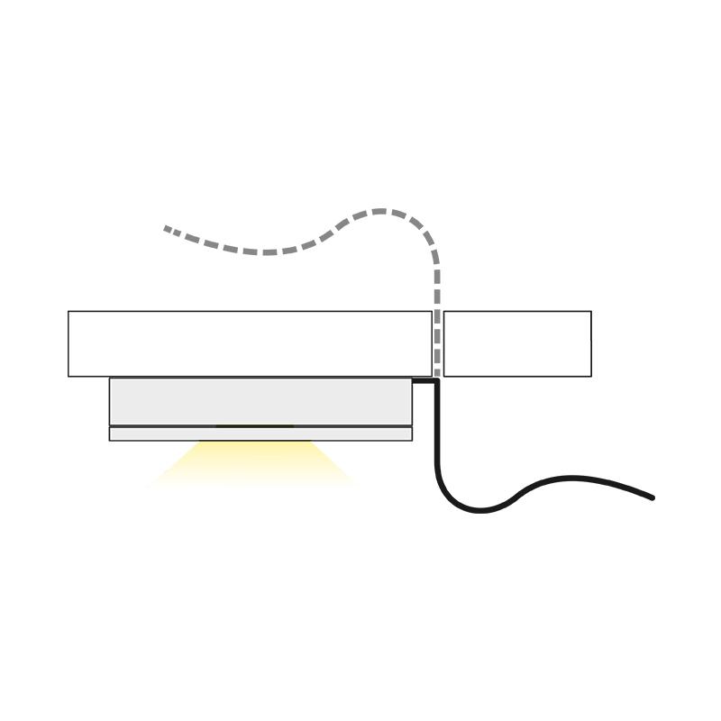 oprawa LED - Royal Base - światło