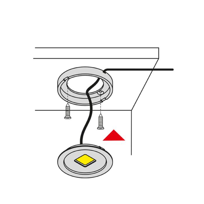 oprawa LED - Royal Base - montaż