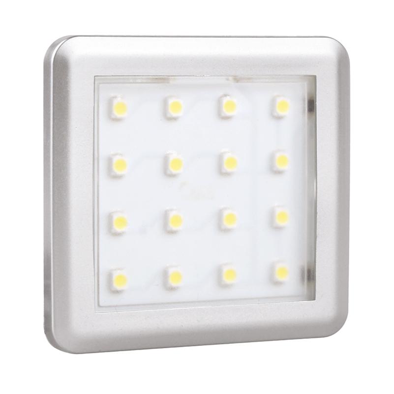 Oświetlenie led do mebli i wnętrz - opraw led square mono