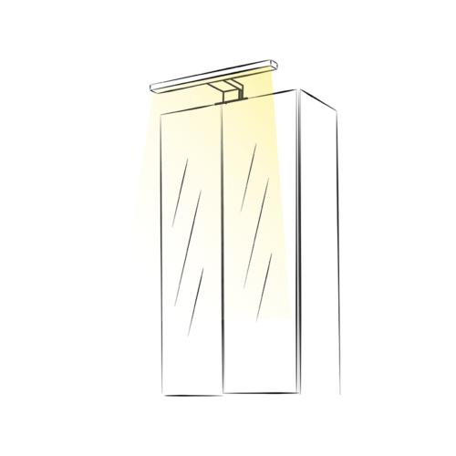 Wysięgnik LED Sabi S - aranżacja