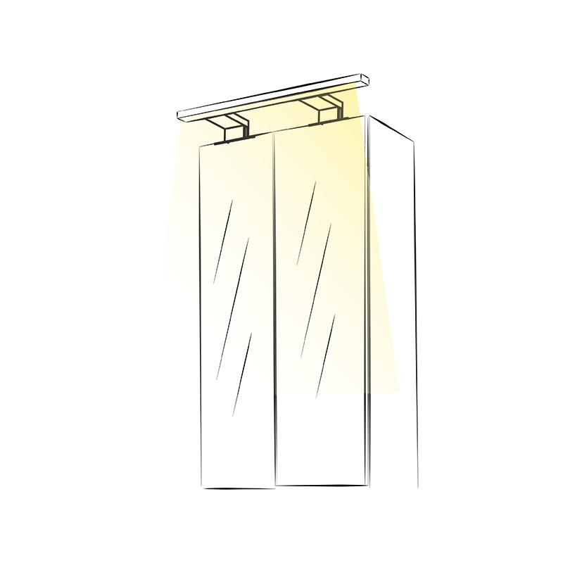 Wysięgnik LED Simeto L - aranżacja