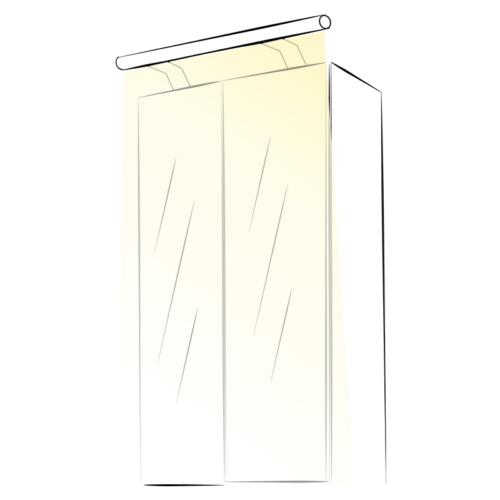 Wysięgnik LED Slim Plus - aranżacja