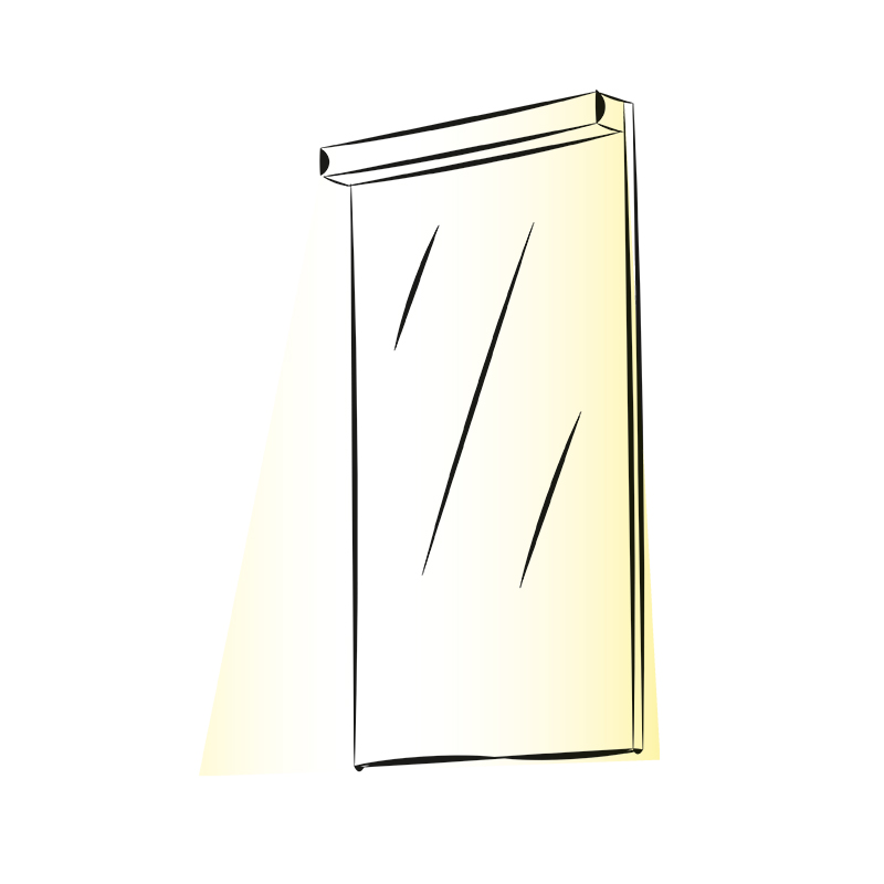 Oświetlenie lustra LED Trend Mirror - aranżacja