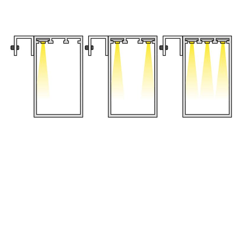 Oświetlenie lustra LED Trend Mirror - warianty