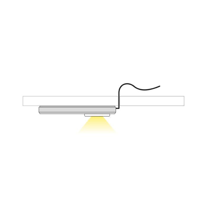 Oprawa LED do mebli Visir - światło
