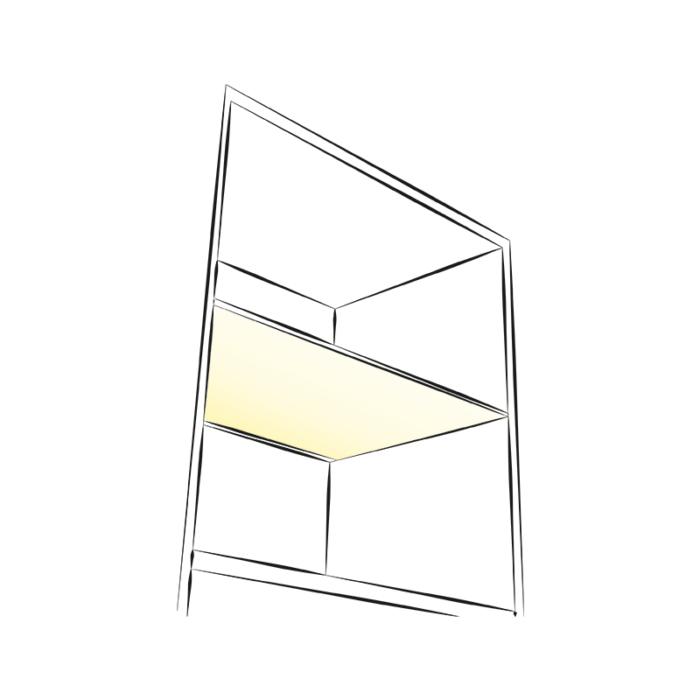 Profil do taśm led - Nico - przykładowe zastosowanie