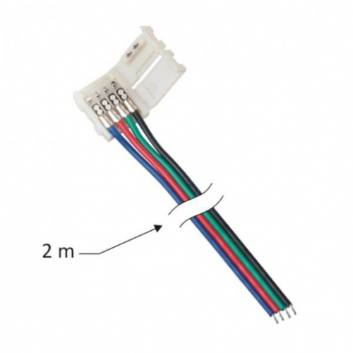 Mounting wires for 10 mm RGB LED strips