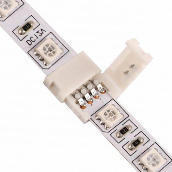 Złączka montażowa na dwie taśmy LED RGB 10 mm