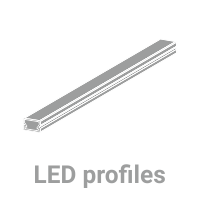 LED profiles for LED stripes.