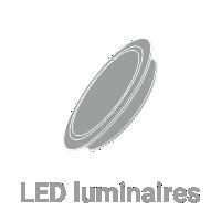 LED luminaire.