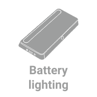 LED Battery lighting for furniture