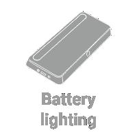LED Battery lighting for furniture